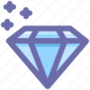 brilliant, crystal, diamond, gem, gemstone, jewelry, value icon