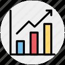analytics, chart, graph, metrics, sales, stats icon