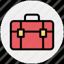 bag, bank, brief case, business, office bag, school bag, suit case icon