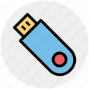 connector, data, dongle, flash, multimedia, stick, usb icon