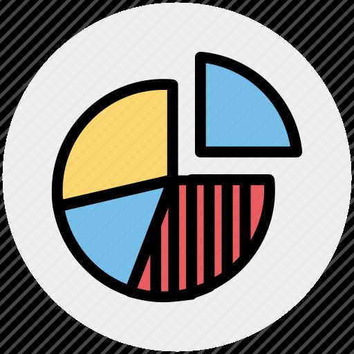 business, chart, finance, graph, money, pie chart, presentation icon