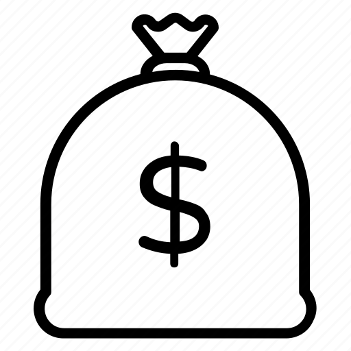 bag, cash, money, money bag, wallet icon
