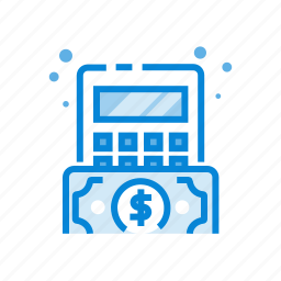 accouting, business, calculation, financial, money icon