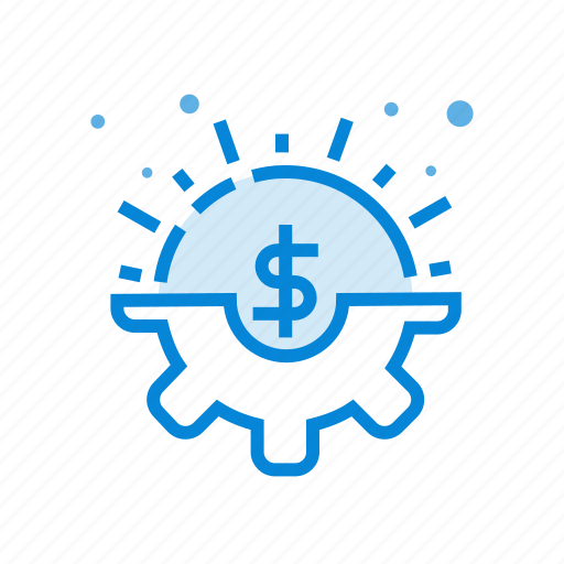 business, dollar, financial, money, service icon