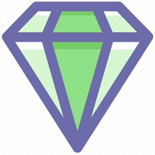 Brilliant, crystal, diamond, gem, gemstone, jewelry, value icon - Download on Iconfinder