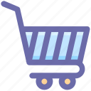 basket, cart, finance, shopping, shopping cart, store icon