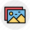 frame, images, photos, pic, pictures, streamline icon