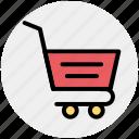 basket, cart, finance, shopping, shopping cart icon