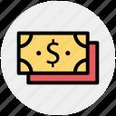 business, cash, dollars, finance, money, payment, revenue icon