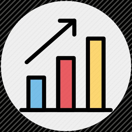 analytics, business, chart, finance, graph, sales icon