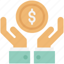 business hands, business plan, investment, money, money in hands, payment icon