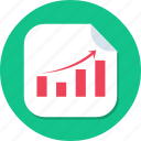 budget, business, graph, growing, growth, profit icon