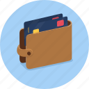 card, cash, money, notes, profit, saving, wallet icon