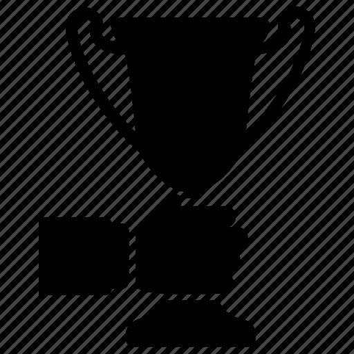 appraisal, champion, performance award, trophy, winner icon