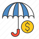 bank, banking, business, cash, currency, finance, insurance, money icon