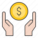 business, cash, currency, finance, loan, money, quick money icon