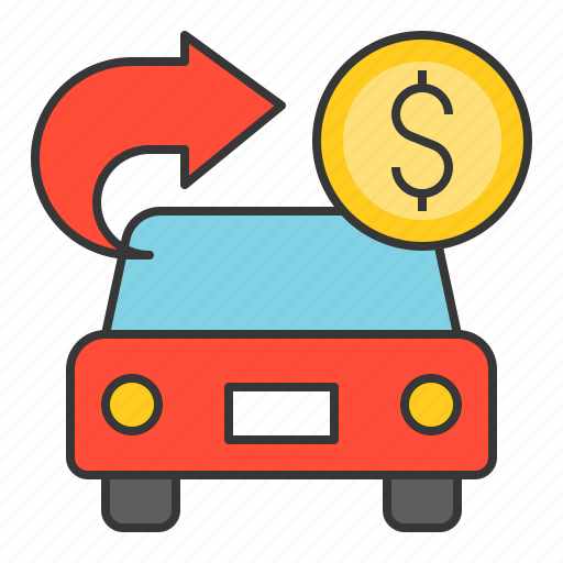 bank, banking, car loan, cash, currency, finance, money icon