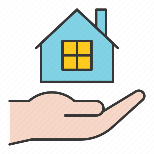 bank, banking, cash, currency, finance, house loan, money icon