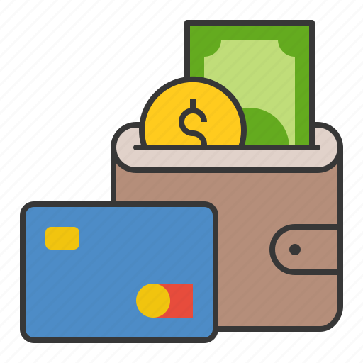 business, cash, currency, finance, money, personal wallet, wallet icon