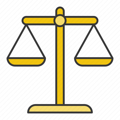 balance, business, currency, finance, law, money, scale icon