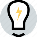 bright, brilliant, idea icon