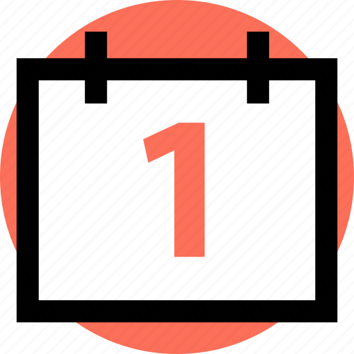 calendar, event, number icon