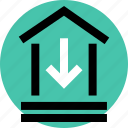 bank, low, rate icon