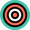 business, goal, good, target icon