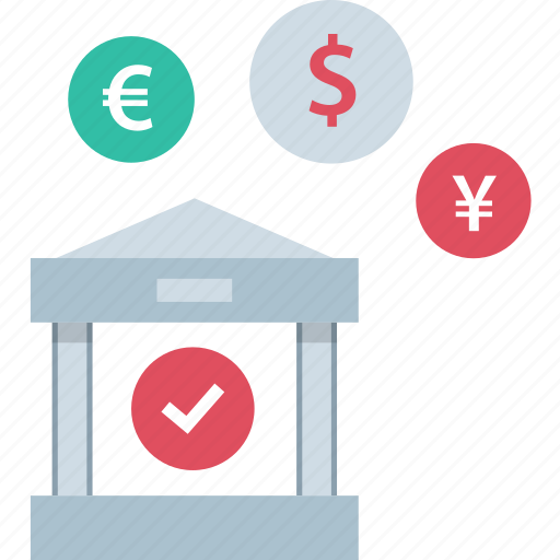 banking, currencies, currency, money icon