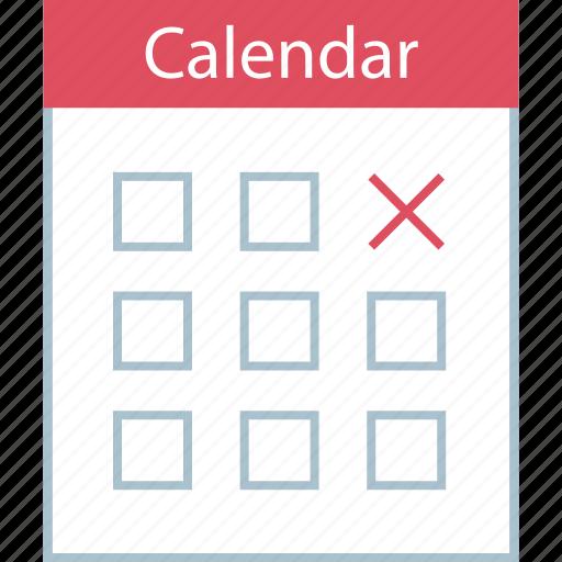 calendar, due, event, schedule icon