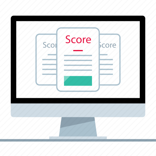 credit, online, score icon
