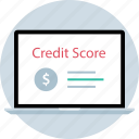 credit, online, score, www icon