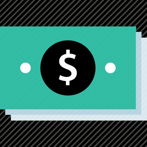 bills, dollar, money, stak icon