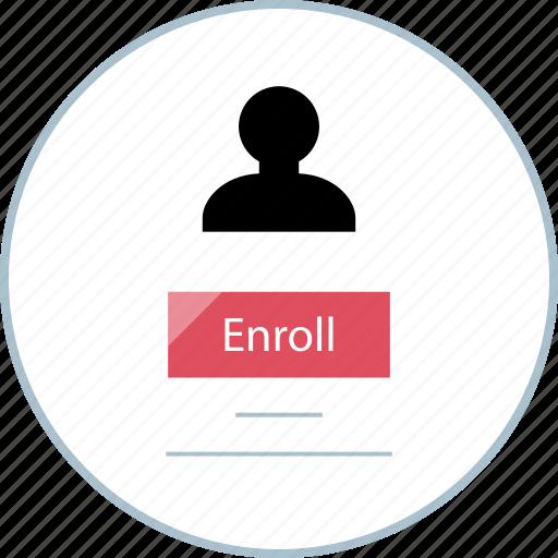 banking, enroll, notification, paperless icon