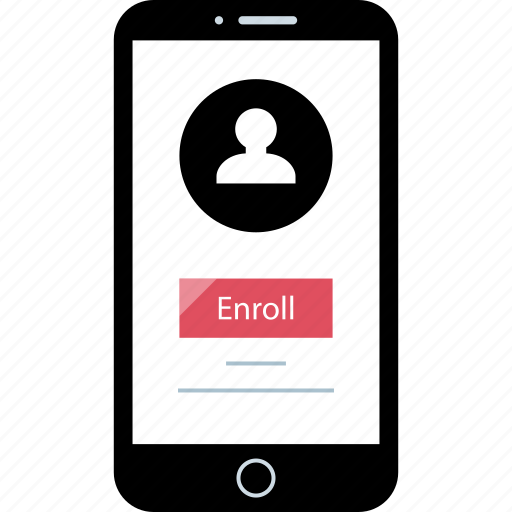 enroll, paperless, statement icon