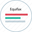 credit, crediting, equifax, score icon