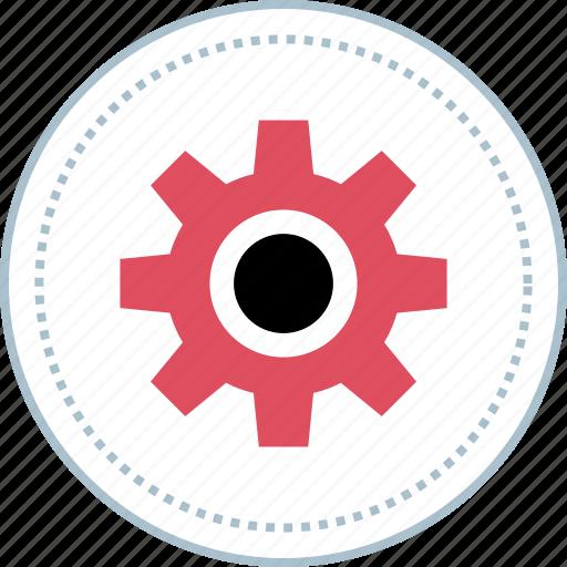 etting, gear, options, settings icon