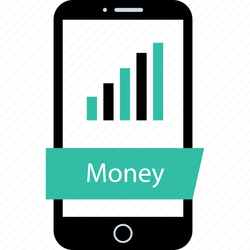 market, mobile, money, transfer icon