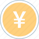 funds, money, pay, yen icon