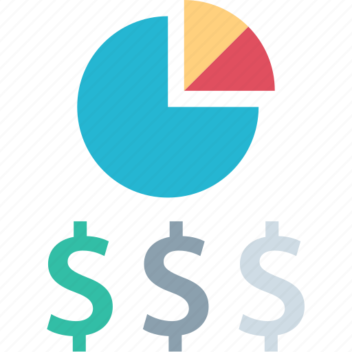 dollar, graph, report, sign icon
