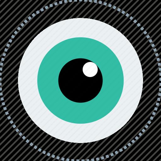 eye, money, watch icon