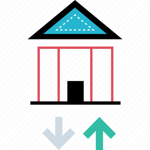 home, house, signal, value icon