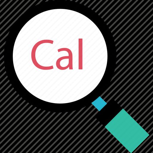 cal, calendar, event, search icon
