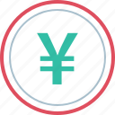 money, pay, yen icon