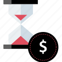 is, money, time icon