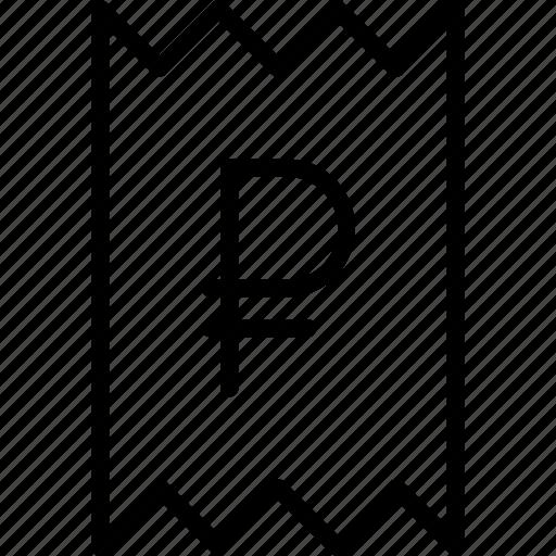 bill, business, finance, invoice, report, statement, trade icon