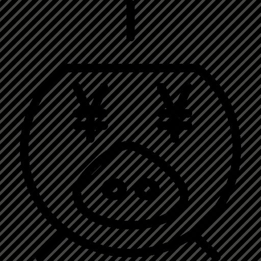 bank, banking, business, finance, pig, piggy, savings icon