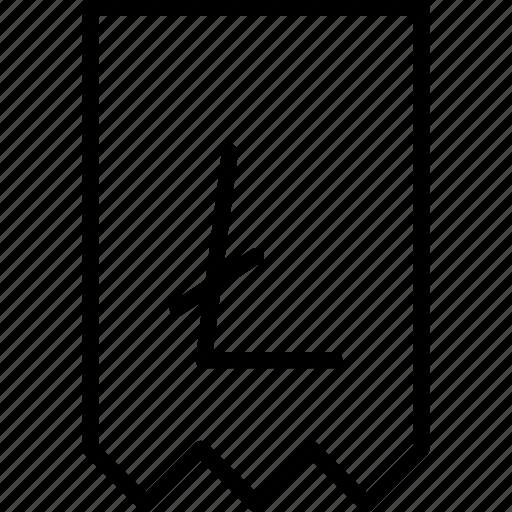 bill, digital, invoice, litecoin, online, receipt, statement icon