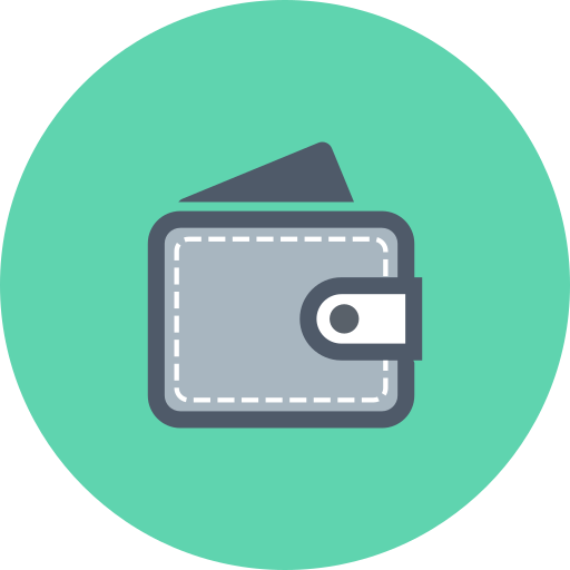 cash, finance, money, money in wallet, wallet icon