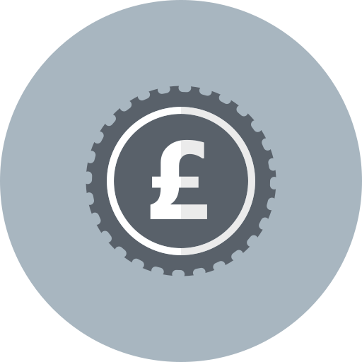 british, cash, coin, currency, money, pound icon